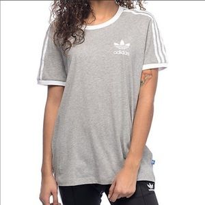 Adidas grey shirt!!